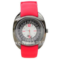 Wholesale Chic Unique Fashion Waterproof Silicone Women Ladies Watch WWZX002
