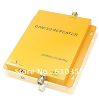 Wholesale New UP TO square meter work GSM Mhz UMTS MHZ Mobile Phone Signal Amplifier Repeater Bo