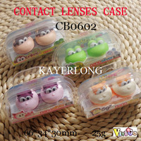 Wholesale NANO mio friends contact lens case CB0602