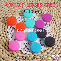 Wholesale biscuit OREO contact lens cases CB0603