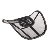 Wholesale 2014 Car Seat Office Chair Massage Back Lumbar Support Mesh Ventilate Cushion Pad