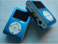 Wholesale 2014 new Metal clip MP3 Player Small screen Clip MP3 Mini MP3 with FM radio