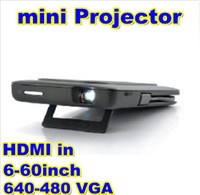 Wholesale Mini Multimedia Pico Projector Pocket Cinema Handheld LED Projector Perfect For MHL HDMI Mobile