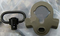 Wholesale Full Steel Dual Side QD Sling Swivel Dark Earth for AEG