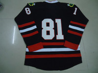 Wholesale 2013 New Hockey Jerseys Chi Jersey Black Color size Mix Order Stitched