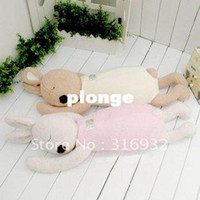 Wholesale Warm and cute plush toy le sucre rabbit shaped nap pillow cushion cm pc