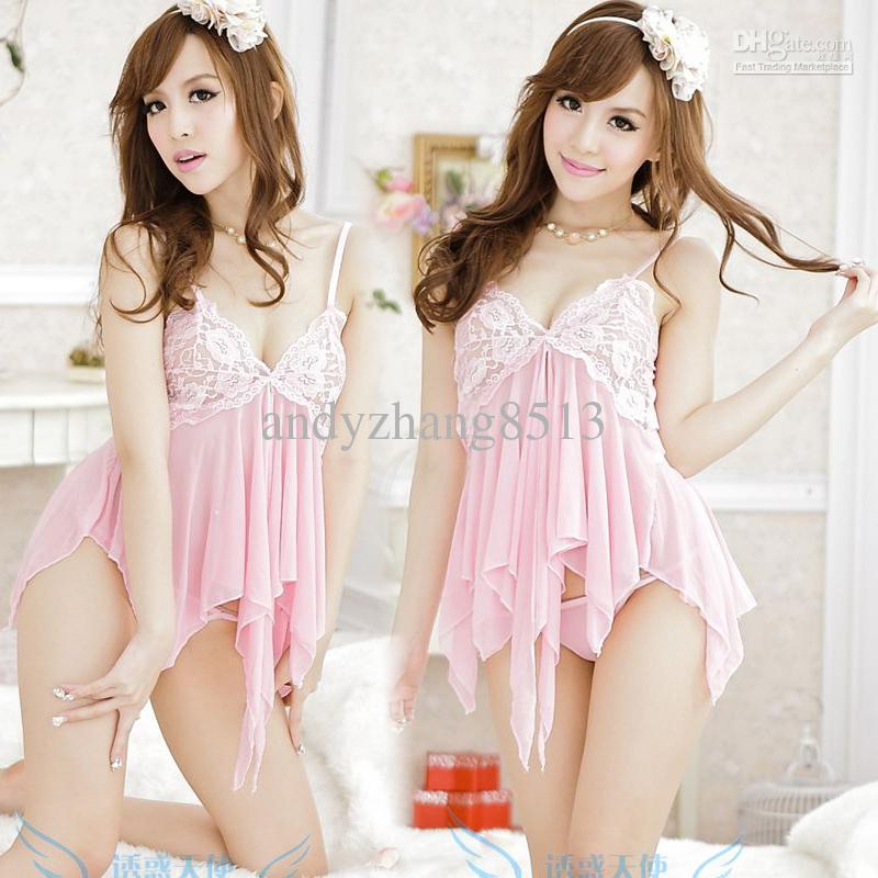 Women s lingerie panties romantic lace tulle sexy sleepwear    Romantic Sleepwear For Women