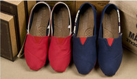 Wholesale 2013 NEW fashion women tom USA And UK flag stripe canvas shoes Casual flat shoes