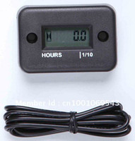 Wholesale Black Hour Meter high quality No Battery Required Works on Any Gas Engine