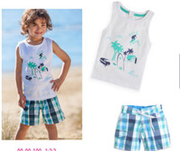 Boy baby summer clothes - Baby clothes set kids suit boys relaxation Outfits children beach sets baby summer clothes set