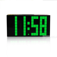 Wholesale LED Jumbo Large Alarm Wall Table Watch Calendar Temperature Weather Countdown Digital World Clocks Timer Display