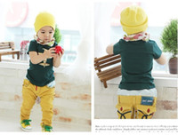 Wholesale Baby clothes children Tee Shirt boys all cotton printing fashion plane T Shirt kids apparel