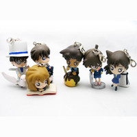 Wholesale Anime Action Figure Detective Conan Figure cell phone strap Chritmas amp Birthday Toys