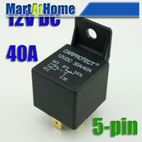 40A auto electrical relays - Auto electrical Relays pin V DC A EF