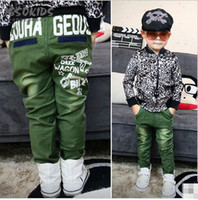 Wholesale ISSOKIDS Children s Clothing Indian Elements Printing Boys Pants Feet Trousers Boots Pants