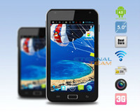 Wholesale RAM MB ROM GB Point Capacitive Screen x pixels G Smart Phone5 quot i57 Android
