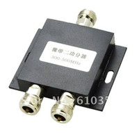 Wholesale 2 way N Female Type Power splitter Mhz walkie talkie Booster Divider Repeater Splitter