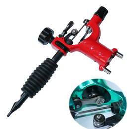 Wholesale Best Tattoo Machine Red Dragonfly Rotary Tattoo Motor Machine Gun Tattoos Professional Needle Kits Supply