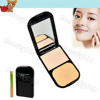 Wholesale Women s Clear Invisible Pressed Powder Foundation Makeup Compact Cake Powder