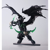 Wholesale Retail WOW World of Warcraft Illidan Stormrage Action Figure Toy cm Chritmas amp Brithday Gift