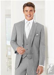 custom made wedding suits for men Groom Groomsmen Tuxedos mens wedding suits (Jacket+Pant+Vest+Tie)