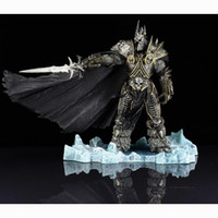 Wholesale Retail World of Warcraft LICH KING ARTHAS MENETHIL Figure WOW