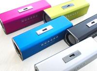 Wholesale Hot Audio Box FM MP3 Player U disk Micro SD Slot Digital Portable Mini stereo Speaker Music Angel