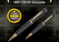 Wholesale spy HD ball Pen wireless spy hidden cameras pinhole invisible outdoor camera mini dvr