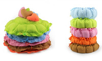 Wholesale new bed color softy round warm pc comfortable love pad pet dog cat S size sweet house