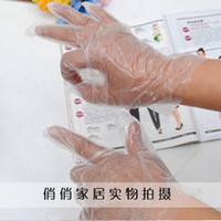 Wholesale HDPE and LDPE Disposable PE Gloves for Cleaning Lab Food Hairdressing Medical