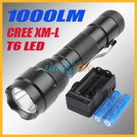 Wholesale UltraFire WF B LM CREE XM L T6 LED Bulb Mode Aluminum Alloy Flashlight Torch