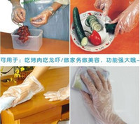 Wholesale food grade disposable PE chicken house medical gloves