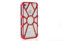 Wholesale iPhone4s mobile phone shell metal Spider Man aluminum alloy Protective shell