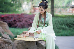 Wholesale Traditional Chinese Han ancient dresses Han Dynasty Dress Lady dress elegant dresses Tang Costumes
