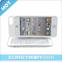 Wholesale Detachable Sliding amp Standing Bluetooth Backlight Keyboard Protective Case Cover for iPhone