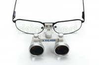 Cheap Brand New Dentist Dental Surgical Medical Binocular Loupes 3.5X 420mm Optical Glass Loupe