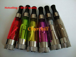Wholesale Super quality Electronic Cigarettes Atomizer Detachable Coil Clearomizer CE4 CE5 CE6 CE7