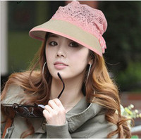 Wholesale 2013 New Arrival Fashion Summer Hats With Lace For Women Top Qulity Natural Straw Hat DG