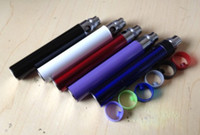 Wholesale 100pcs battery for ego t ego w ego series high capacity mah With colorful click button