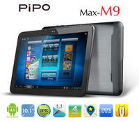 Wholesale Low Price inch RK3188 Quad Core Android OS GB DDR3 GB WiFi Bluetooth Pipo M9 Tablet PC