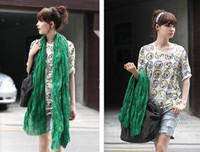 Wholesale Fashion Long Style Scarf Winter Pashmina Scarf Shawl Silk scarves Warm Scarfs Stole Cotton Blends