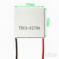 Wholesale 5 Pieces TEC1 X40MM TEC Thermoelectric Cooler Peltier V A W W Max