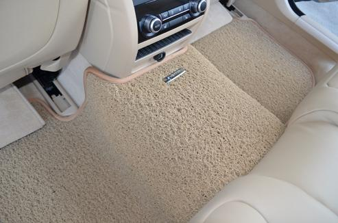 how to clean floor carpet in car