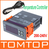 Wholesale 200 V Digital LCD Thermostat Regulator Temperature Controller Thermocouple H9347