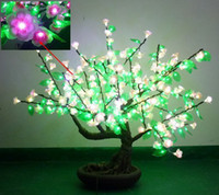 Wholesale Top quality LED artificial bonsai tree lights with cloth flowers ideal for home amp garden decoration
