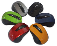 Wholesale Wireless Portable Optical Mouse USB Receiver RF GHz For PC Keys dpi
