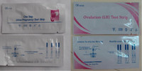 Wholesale 10mIU ml Ovulation LH Test Strip Pregnancy HCG Test Strip by fedex