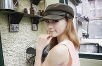 Wholesale The Korea Style Newest Female s Fedora Hat Navy Cap Fashion Cheap Caps Four Colors DG