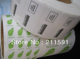 Green Tea Packaging PVC ,PE,Paper Stickers Labels