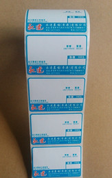Custom Thermal Labels for Dymo Printer Color Printing Round Corner 1000pcs roll Suit for Supermarket   Store